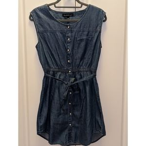 Denim Mid Dress